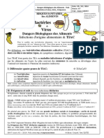 Cours TIAC Toxiinfections Bacteries Aliments Poly.doc