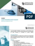 Información Desarrollador Hadoop