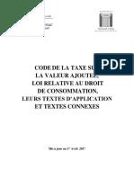Code Tva 2017 Fr