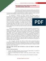 Medidas Monetarias Del BCRP Frente La Crisis Internacional 2008