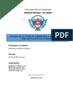 Analisis de La Albañileria y Acabados de La Edificacion en Una Vivienda