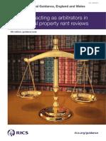 RICS Surveyors Acting as Arbitrators 9th Edition