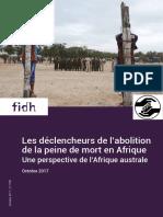 Peine de mort en Afrique