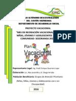 PROYECTO Colonia Vacacional 2016aj