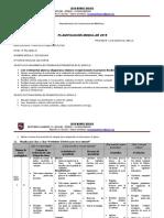 Planificación Modular Clasea Clase Soldadura