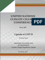 Uganda COP 23 Final Copy November 02 2017