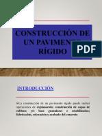 Exp. Construccion de Concreto Rigido