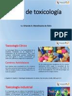Tipos de Toxicología