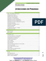 Glosario Economía y Finanzas LFR