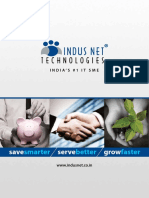 Indus Net Corporate Brochure(2012)