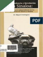 Domínguez,Miguel - Independencia y Revolución en Sinaloa - La guerra de independencia en las provincias de Sonora y Sinaloa.pdf