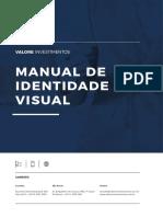 MIV - Manual de Identidade Visual da Valore Investimentos