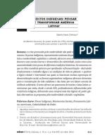 Pensar e transformar América Latina - Danilo Assis Clímaco