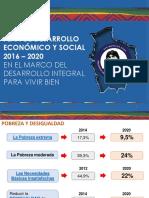 Presentación PDES Estado Plurinacional de Bolivia