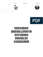 Resumen Sociales 11° Bachillerato