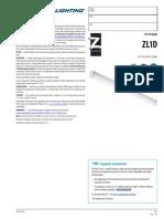 TZL1D-L96-6000LM-FST-MVOLT-50K-80CRI-WH