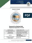 RFP 17-10-02 Seasonal Ice Rink