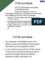 Cufsm Advanced Matlab