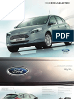 Brochure Ford Focus Electric