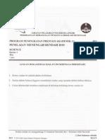 pmr - Selangor Sc Paper 1 2010