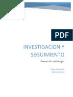 Investigacion y Seguimiento