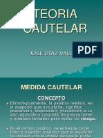TEMA 7 TEORIA CAUTELAR - Jose Diaz Vallejos