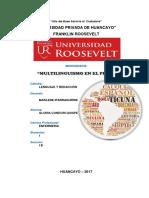 Monografia de Multilenguismo