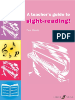 Imrpove Your Sight Reading Teachers Guide