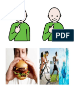 Acciones Comer Ejercitarse