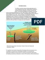 Actividad Sismica . Fracking