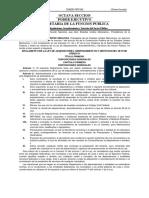 Reglamento de La Ley de Adquisiciones, Arrendamientos y Servicios Del Sector Público