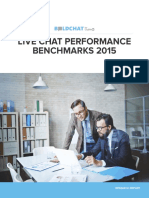 2015 Live Chat Performance Benchmarks