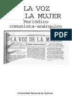 La voz de la mujer - Periódico comunista anárquico.pdf