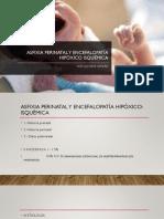 Asfixia Perinatal y Encefalopatía Hipóxico-IsquÉmica