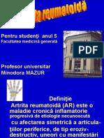 Artrita Reumatica