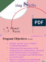 Coaching Skills Power Point 4143