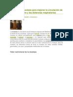 Semillas de Mostaza Para Mejorar La Circulación de La Sangre y Las Dolencias Respiratorias
