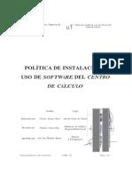 Politica Instalacion Software