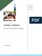 Vorarlberg – Wanderlust
