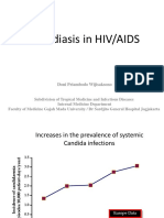 Candidiasis in HIV