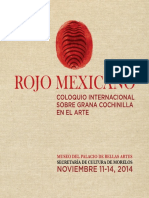 Rojo mexicano, programa del coloquio