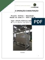 Manual de Operação e Manutenção - Estufa Arprotec