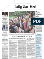 The Daily Tar Heel for August 25, 2010