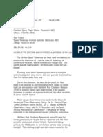 Official NASA Communication 96-129