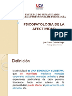 Sesion 9- Psicopatologia Afectividad
