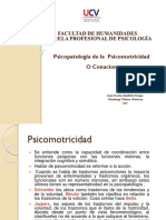 Sesion 8- Psicopatologia Psicomotricidad-2017