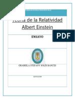 Teoría de La Relatividad Albert Einstein