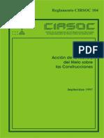 CIRSOC 104 SOBRECARGA DE NIEVE.pdf
