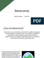 Basecamp presentacion