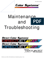 DCS Direct Jet 1024UV 1014UV Maintenance Troubleshooting Guide 2.1